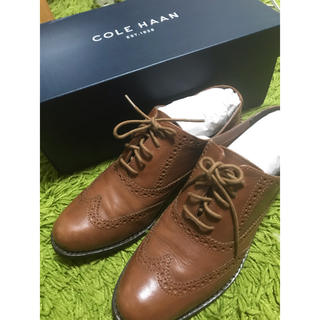 コールハーン(Cole Haan)のコールハーン オックスフォードシューズ おじ靴 マニッシュシューズ (ローファー/革靴)