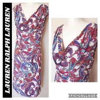 Ralph Lauren - 新品同様★3L15号 ラルフローレンワンピース RALPH LAUREN ドレス