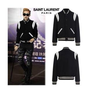 サンローラン(Saint Laurent)のSaint Laurent Paris テディジャケット 46(スタジャン)