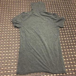 ミッシュマッシュ(MISCH MASCH)のグレー タートルネック(Tシャツ(半袖/袖なし))