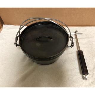 ユニフレーム(UNIFLAME)のユニフレーム  10インチ ダッチオーブン  リフター セット(調理器具)