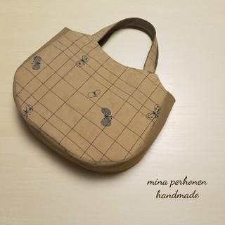mina perhonen - ミナペルホネン*choucho ハンドメイド トートバッグ