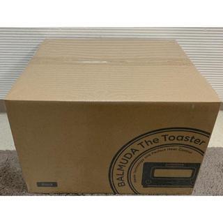 バルミューダ(BALMUDA)の新品未開封☆バミューダ  トースター(黒)K01E-KG(調理機器)