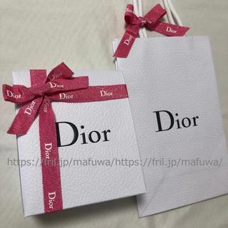 ディオール(Dior)のピンク ラッピング セット ギフトボックス プレゼントボックス ディオール 限定(ラッピング/包装)