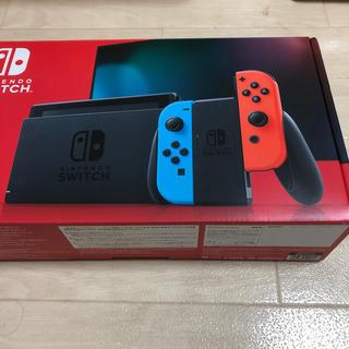 ニンテンドースイッチ(Nintendo Switch)のNintendo Switch 新品 新モデル 未開封 新型 任天堂(家庭用ゲーム機本体)