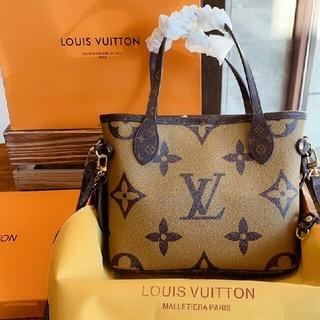 LOUIS VUITTON -  新品同様手提げ袋クロスボディバッグ