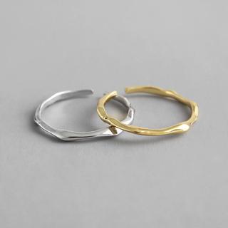 TODAYFUL - #1184   silver925  シンプルデザイン  リング ◆ゴールド◆