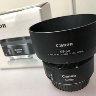 Canon - Canon EF50mm F1.8 STM 純正フード付き
