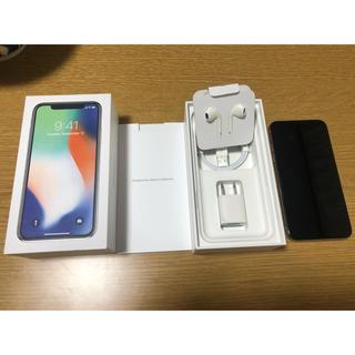 iPhone - iPhone x 64GB simフリー 美品 完動品