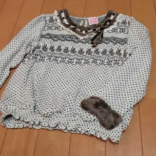 アクシーズファム(axes femme)のアクシーズファムトップス120(Tシャツ/カットソー)