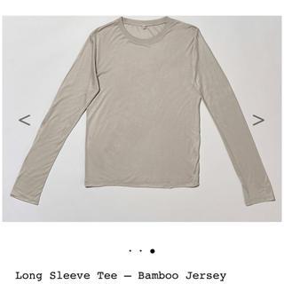 BEAUTY&YOUTH UNITED ARROWS - baserange long sleeve Tee グレー S ベースレンジ