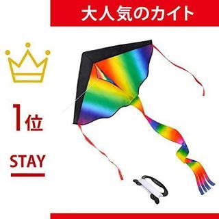 STORE アウトドア 凧揚げ 虹色 凧 TAKU カイト カラフルカイト
