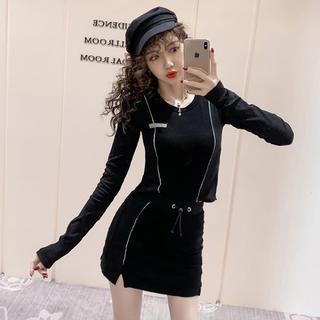 スタイルナンダ(STYLENANDA)のインポート♡スポーティーラインセットアップ♡韓国ファッション(セット/コーデ)