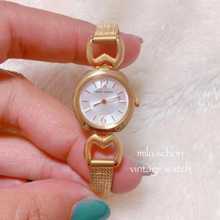 mila schon - 【mila schon】ミラショーン 腕時計 ゴールド ヴィンテージ 稼働品