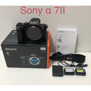 SONY - ソニーSONY ミラーレス  一眼 α7Ⅱ ボディIL CE-7M2