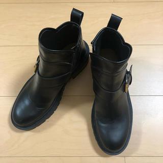 ZARA - ZARA レザー ブーツ
