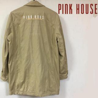 ピンクハウス(PINK HOUSE)の90's PINK HOUCE ピンクハウス ステンカラーコート(トレンチコート)