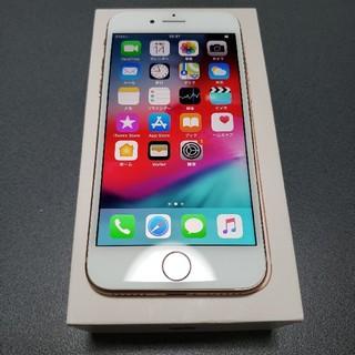 iPhone - SIMフリー iPhone8 64GB ゴールド