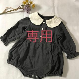 韓国子供服 ロンパース 80