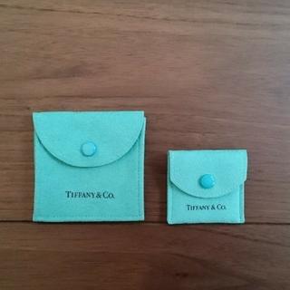 Tiffany & Co. - ティファニー 保存袋 大・小セット