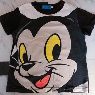 Disney - ディズニー BIG フェイス Tシャツ フィガロ ピノキオ  100