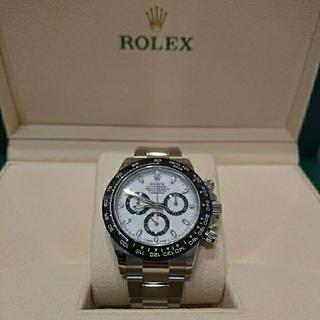 ロレックス(ROLEX)の① ロレックス デイトナ 白文字盤  (腕時計(アナログ))