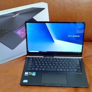 エイスース(ASUS)の【美品】ZenBook Pro 14 UX450FDX office付(ノートPC)