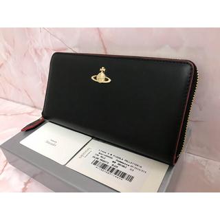 Vivienne Westwood - 黒×赤ラウンドファスナー長財布❤️ヴィヴィアンウエストウッド❤️新品・未使用
