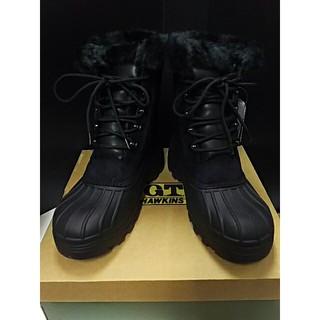 ジーティーホーキンス(G.T. HAWKINS)の最値!新品!ジーティーホーキンス高級スノーブーツ 黒 25cm(ブーツ)