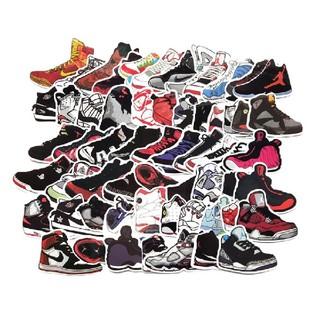 ナイキ NIKE スニーカー バスケットボール 靴 ステッカー テガール 60枚