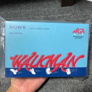 ウォークマン(WALKMAN)のSONY NW-A100TPS ウォークマン40周年モデル(ポータブルプレーヤー)
