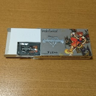 ゲームボーイアドバンス(ゲームボーイアドバンス)のキングダムハーツ チェインオブメモリーズ GBA(携帯用ゲームソフト)