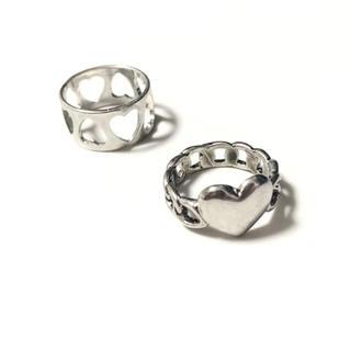 AKKI embellire リング ring シルバー 未使用 セット(リング(指輪))