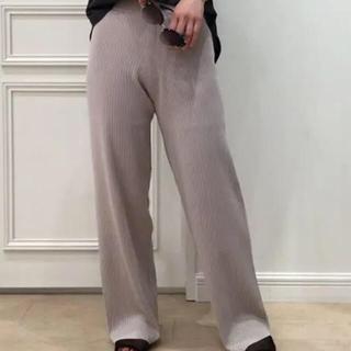 DEUXIEME CLASSE - ドゥーズィエムクラス パンツ  ブラック