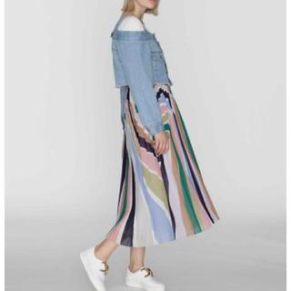 GRACE CONTINENTAL - 新品 定価31900円 グレースコンチネンタル スカート グレー サイズ36