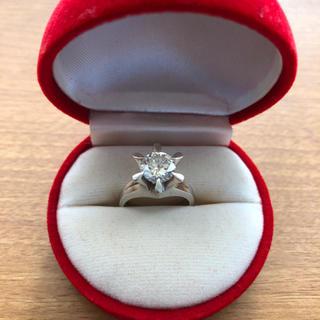 プラチナ立て爪ダイヤモンドリング【1.237カラット】(リング(指輪))