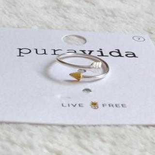 プラヴィダ(Pura Vida)のPura vida リング 指輪 矢 US 7 シルバー ロンハーマン取扱(リング(指輪))