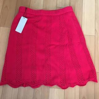 セシルマクビー(CECIL McBEE)のセシルマクビー ニットスカート(ミニスカート)