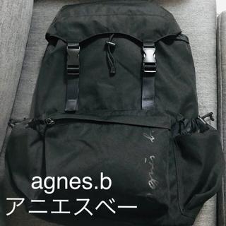 agnes b. - agnes.b アニエス・ベー バッグ バックパック 黒 マザーズリュック