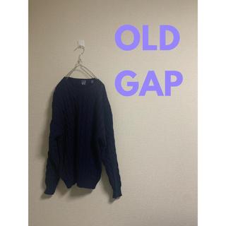 ギャップ(GAP)のOLD GAP ケーブルニット 90s(ニット/セーター)