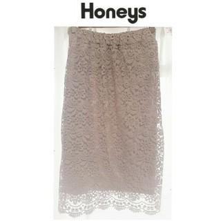 HONEYS - 【ハニーズ】レーススカート ♡ Mサイズ