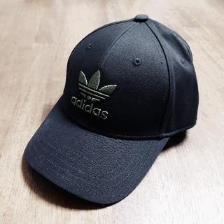 adidas - ブラック ダークグリーン adidas キャップ