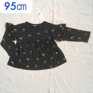 babyGAP - special price『新品』babyGap 花柄長袖Tシャツ95㎝