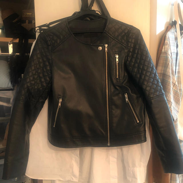 JEANASIS(ジーナシス)のJEANASISのライダースジャケット レディースのジャケット/アウター(ライダースジャケット)の商品写真