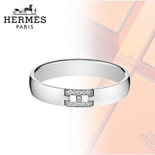 エルメス(Hermes)のエルメス エヴァ ダイヤ11P ヘラクレス リング 50 WG 指輪 リング(リング(指輪))