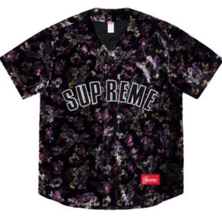 シュプリーム(Supreme)のSupreme Floral Velour Baseball Jersey (その他)