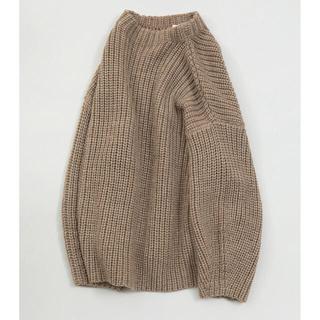 TODAYFUL - TODAYFUL☆ Oversize Braid Knit ベージュ
