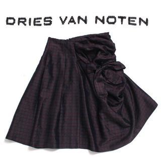 ドリスヴァンノッテン(DRIES VAN NOTEN)のDRIES VAN NOTEN リボンドレープドレススカート size38 (その他)