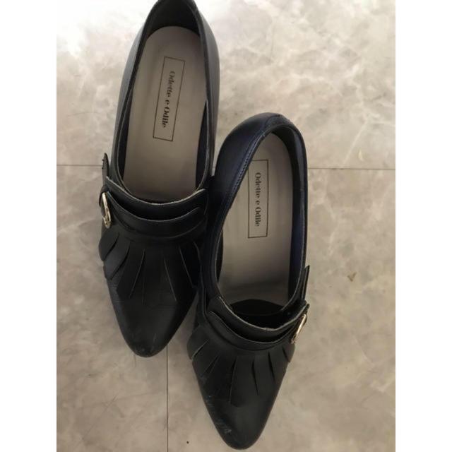 Odette e Odile(オデットエオディール)のオデット エ オディール ブーティ ブーツ レザー レディースの靴/シューズ(ブーティ)の商品写真