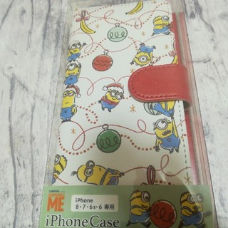 ミニオン(ミニオン)のイッツデモ ミニオン iPhone8 7 6S6 専用 手帳型 スマホケース(iPhoneケース)